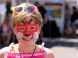 Face Painting at the Gresham Arts Festival