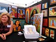 Vendor at the Gresham Arts Festival