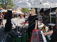 Musicians performing at the Gresham Arts Festival