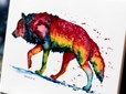 Gallery Arts Festival Wolf Painting