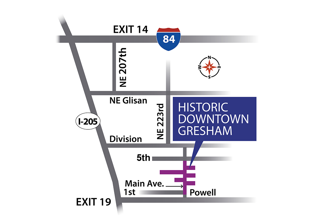Gresham Arts Festival 2020 Map