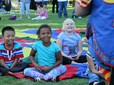 Children celebrate National Night Out in Kirk Park