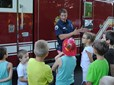 National Night Out Firefighter