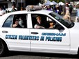 Citizen Volunteers in Policing at Teddy Bear Parade