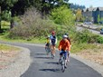 Bicyclists on Gresham-Fairview Trail in Gresham